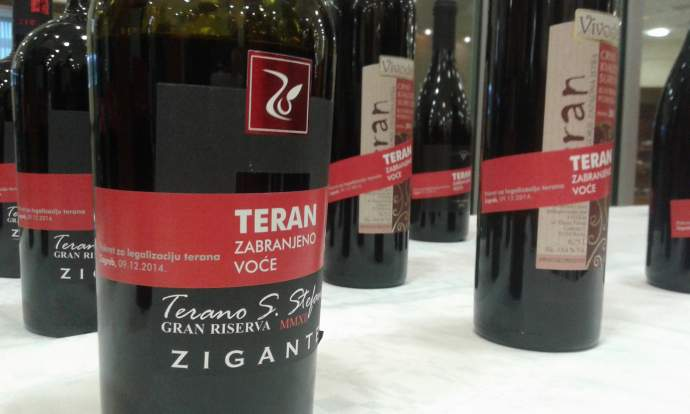 Croatian Teran Wine no Longer Welcome in Slovenia