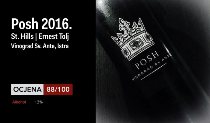 First Istrian Pošip by Ernest Tolj is an Elegant and Hedonistic Wine