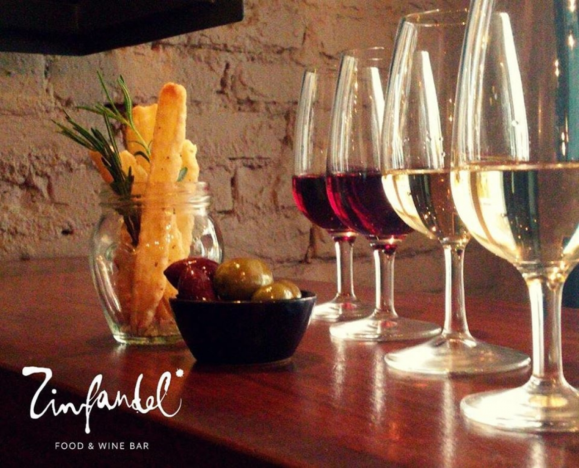 Total croatia wine wine tasting at zinfandel the for Food wine bar zinfandel