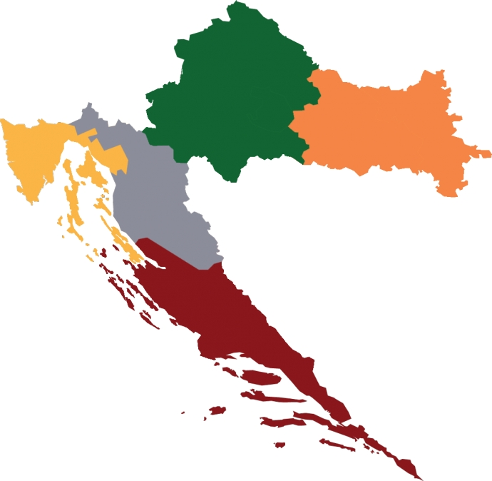 Four Croatian Wine Regions