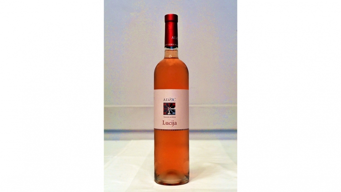 Wine of the Week is Lucija 2017, a Rose by the Kutjevo Family Winery Adžić